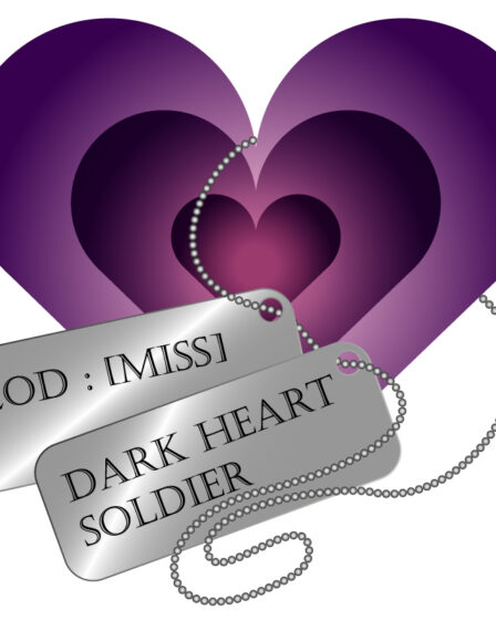 Logo Dark Heart Soldier Youtube channel