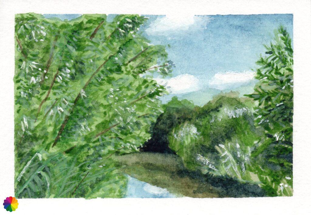 Illustration vista to Oude Maas
