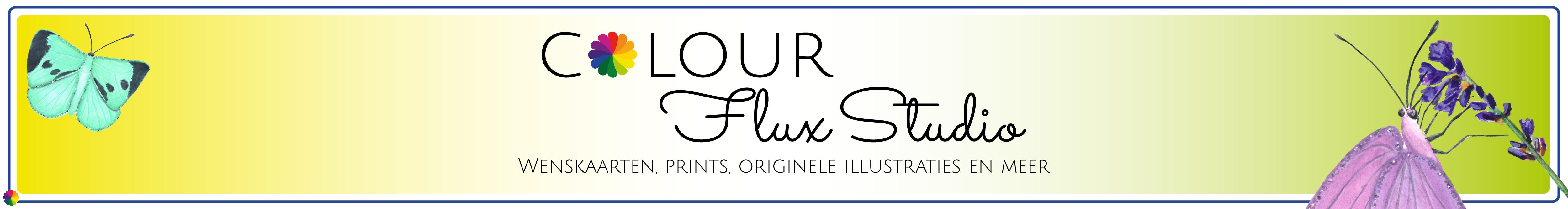 Banner Etsy shop ColourFlux Studio