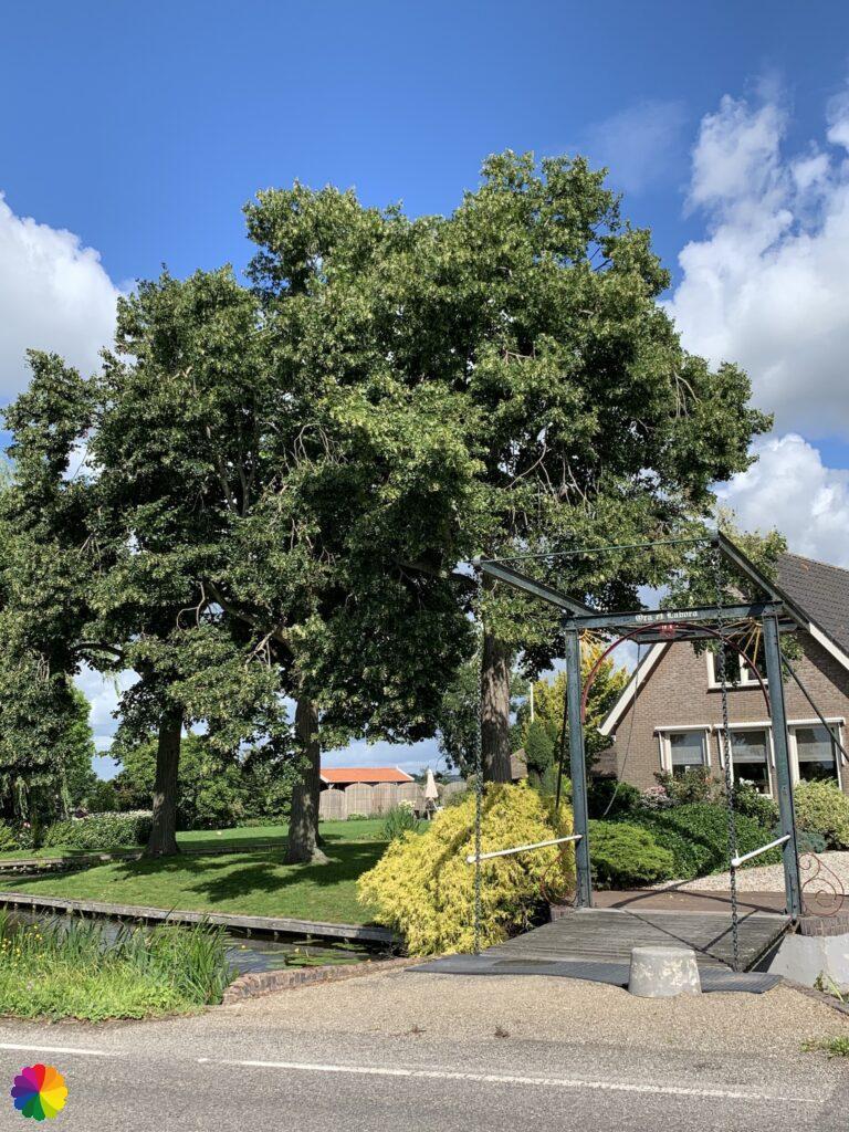 House with drawbridge at Kerkweg