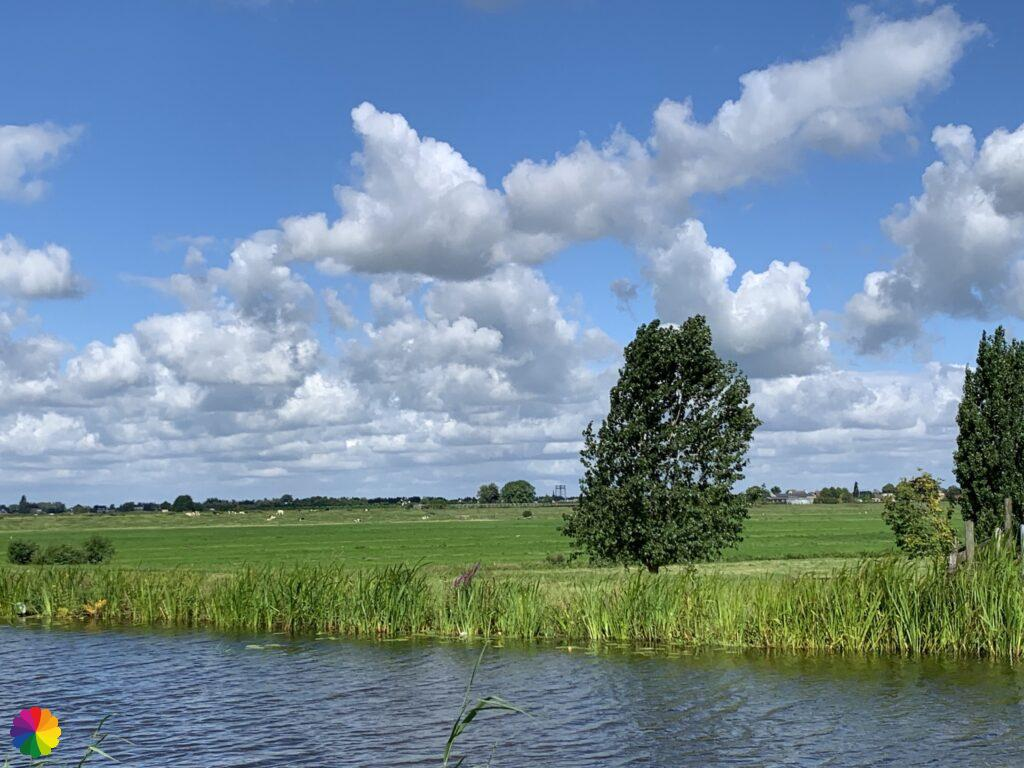View from the Kerkweg, Reeuwijk-Dorp