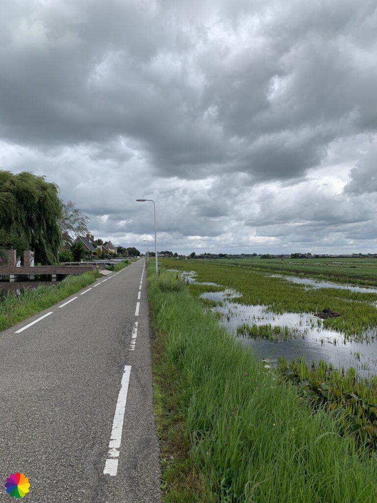 Middelburgseweg, Boskoop in the Netherlands