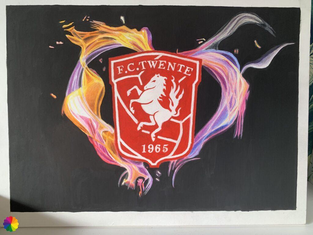 FC Twente finished painting