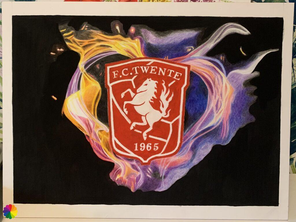 FC Twente painting almost done