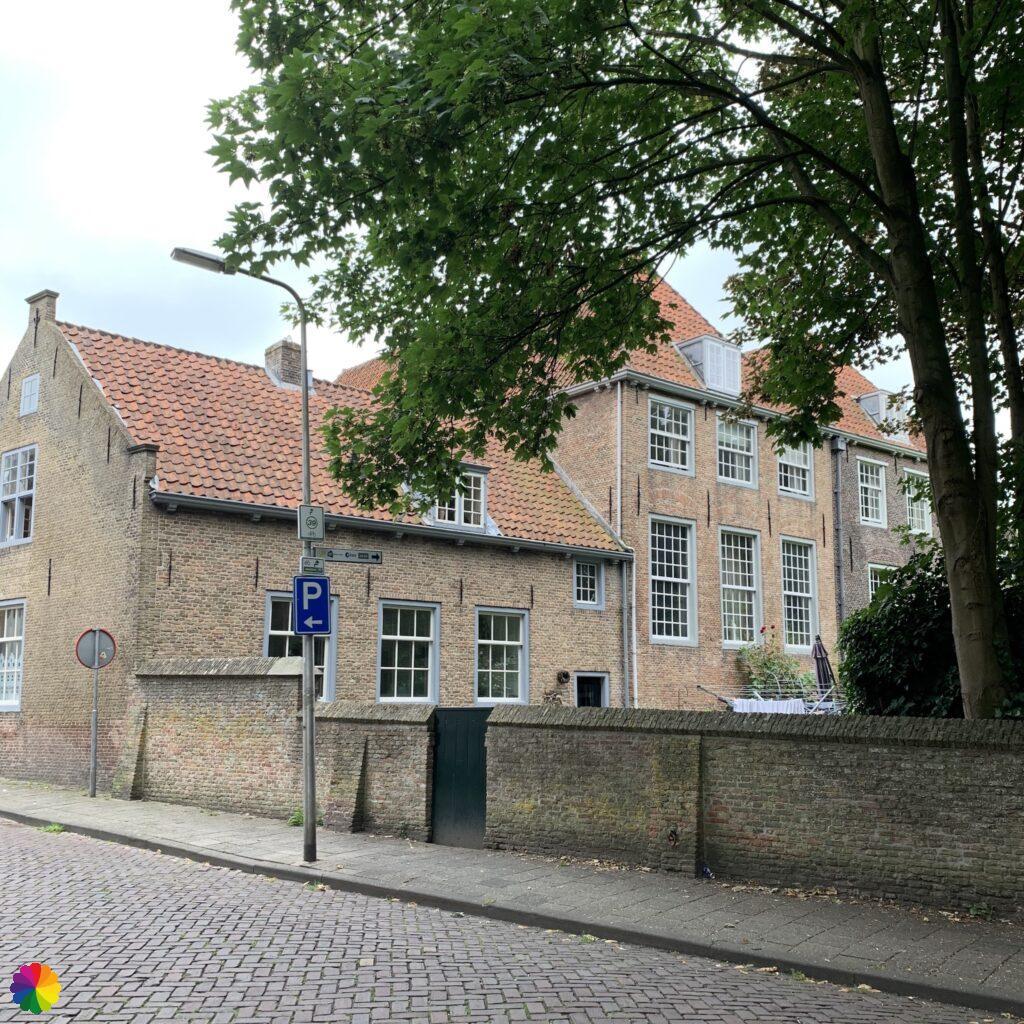 Building at Heenvliet in the Netherlands