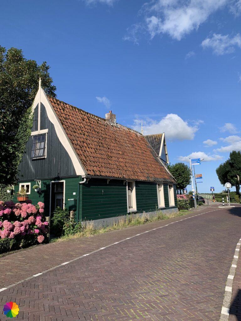 Wooden house at De Rijp