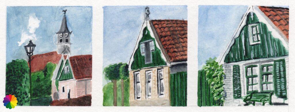 Illustration of Driehuizen
