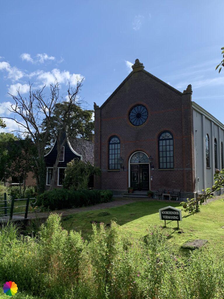 Church at Noordeinde in the Netherlands