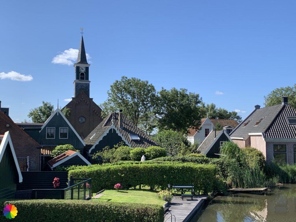 Church at Driehuizen close up