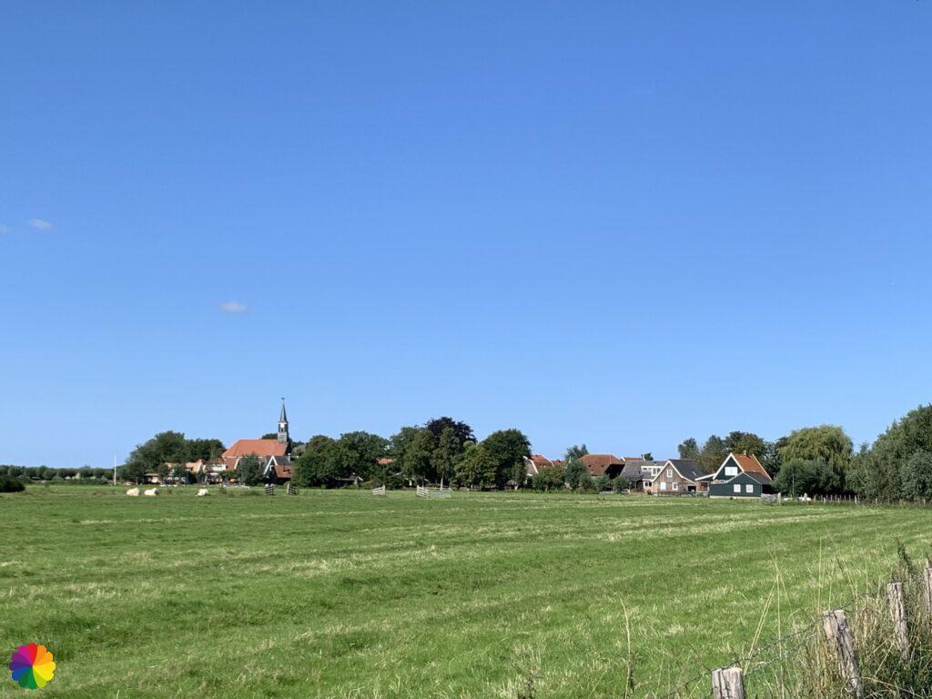 Church at Driehuizen getting closer