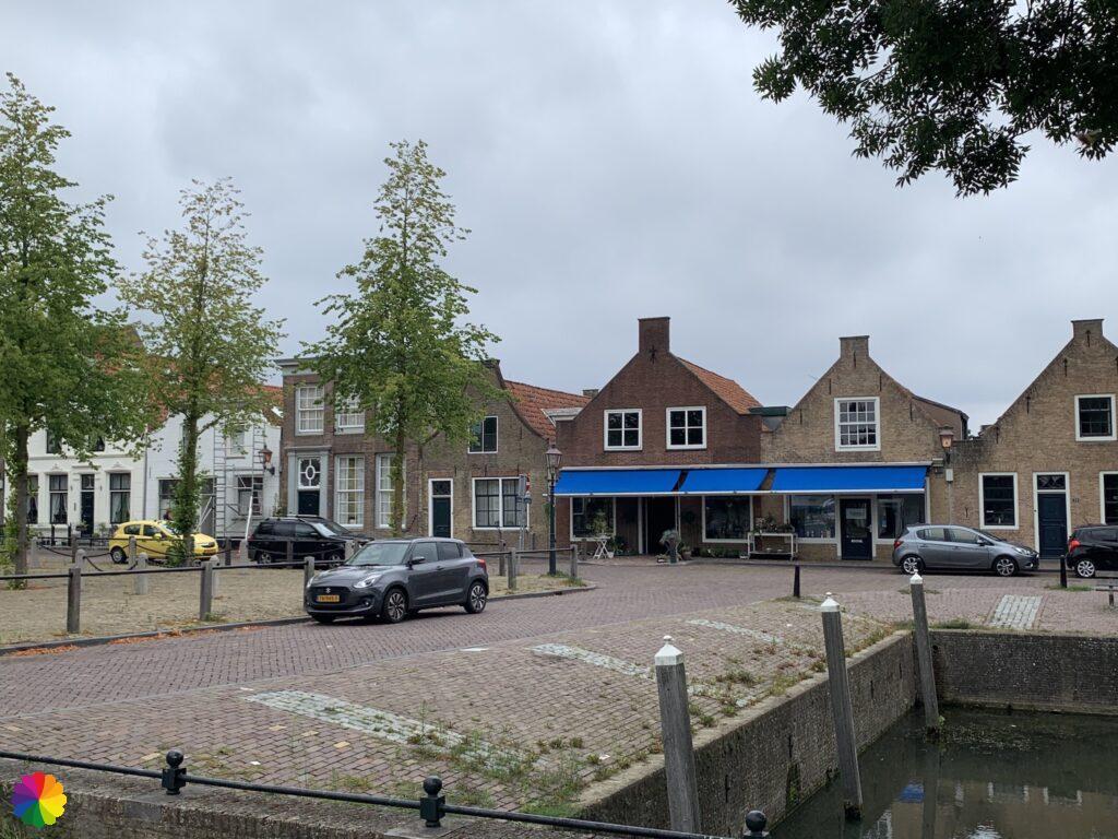 Markt at Heenvliet in the Netherlands