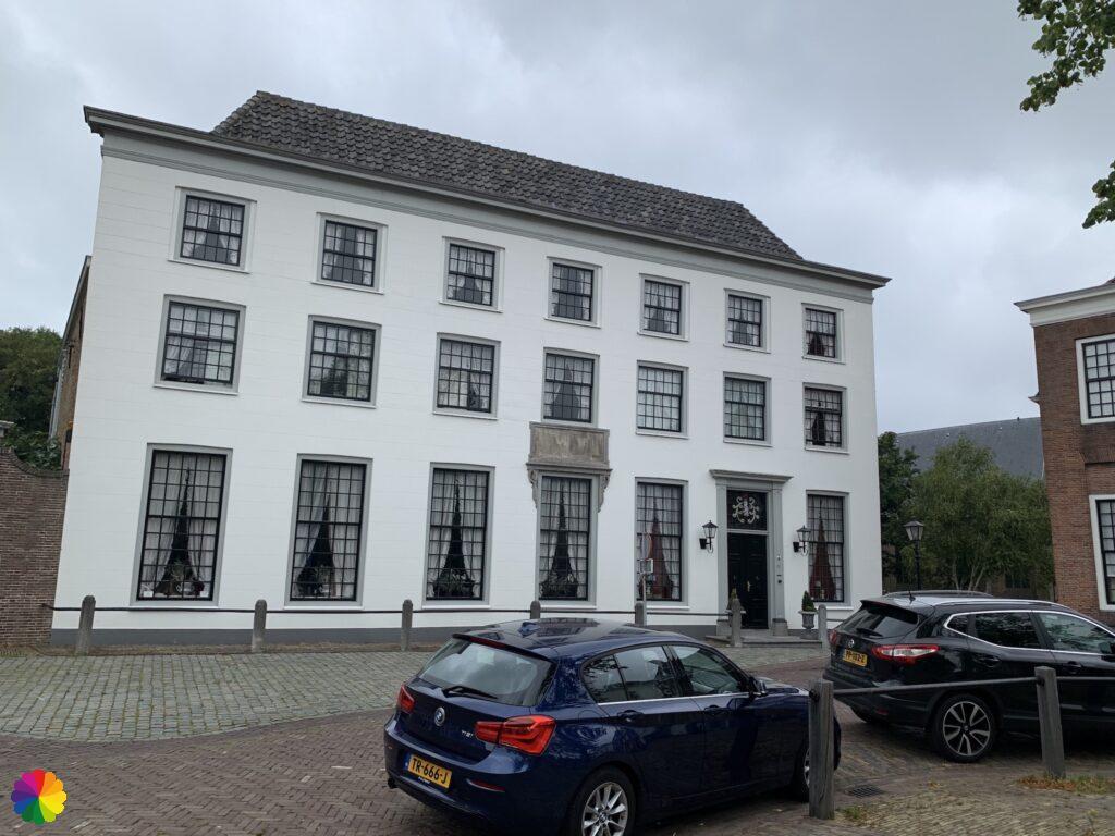 Majestic house at the Markt in Heenvliet