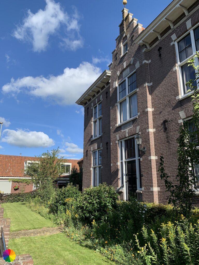 Beautiful facade at De Rijp