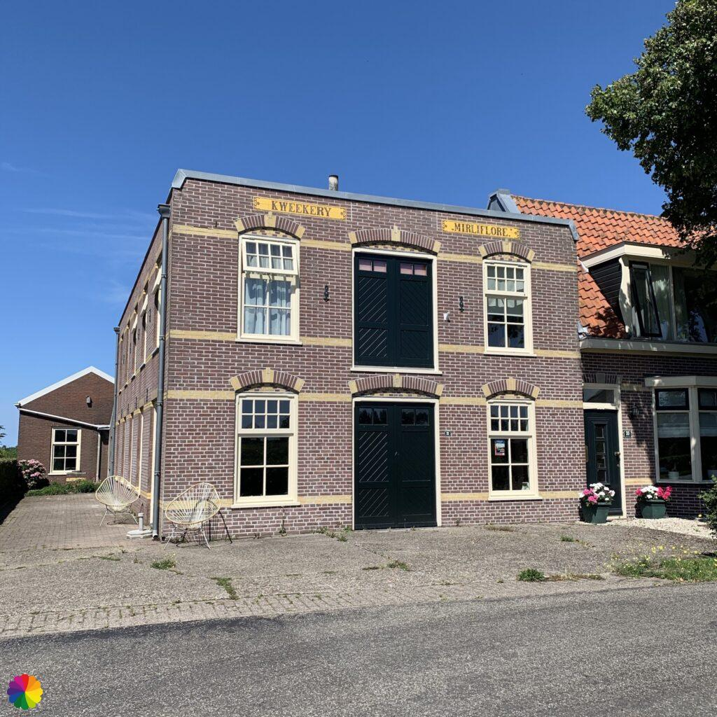 Old facade of building at Akersloot