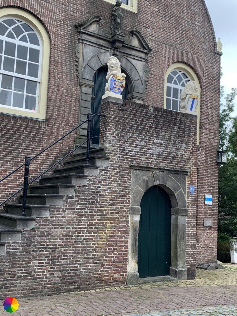 Town hall at Geervliet in the Netherlands