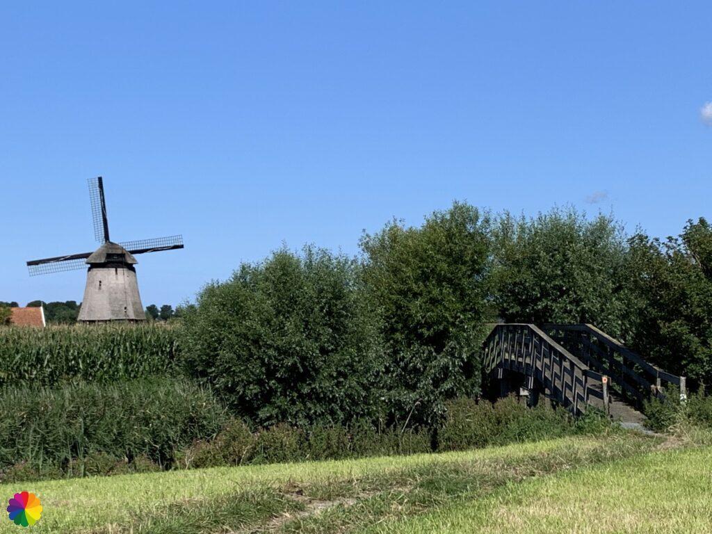 Small bridge at Strijkmolen K