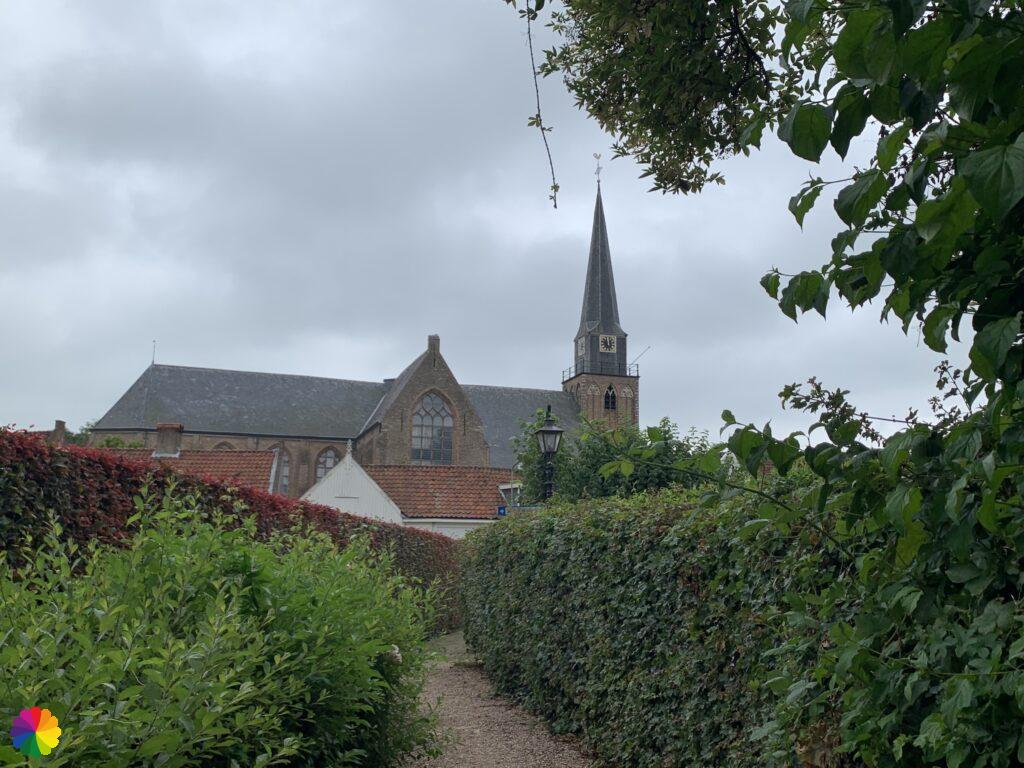 The church of Geervliet in the Netherlands