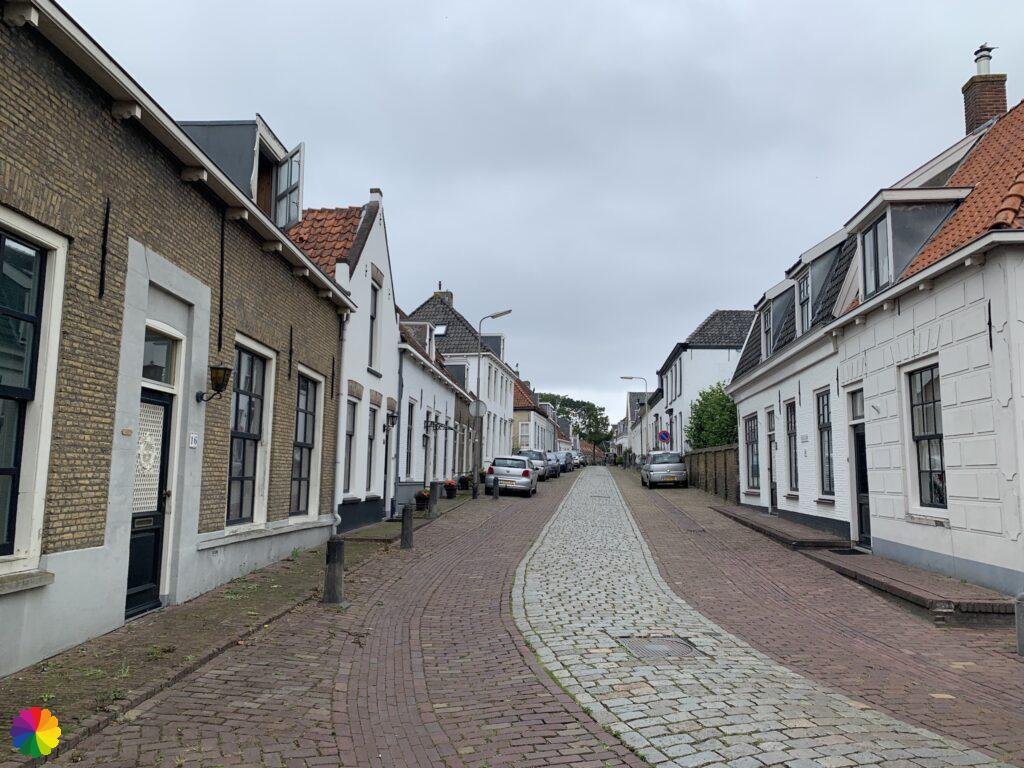 Historical streets at Geervliet in the Netherlands 2