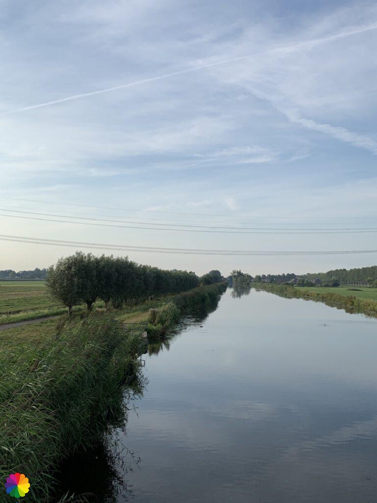 Lange Weidsche Boezem near Hogebrug in the Netherlands