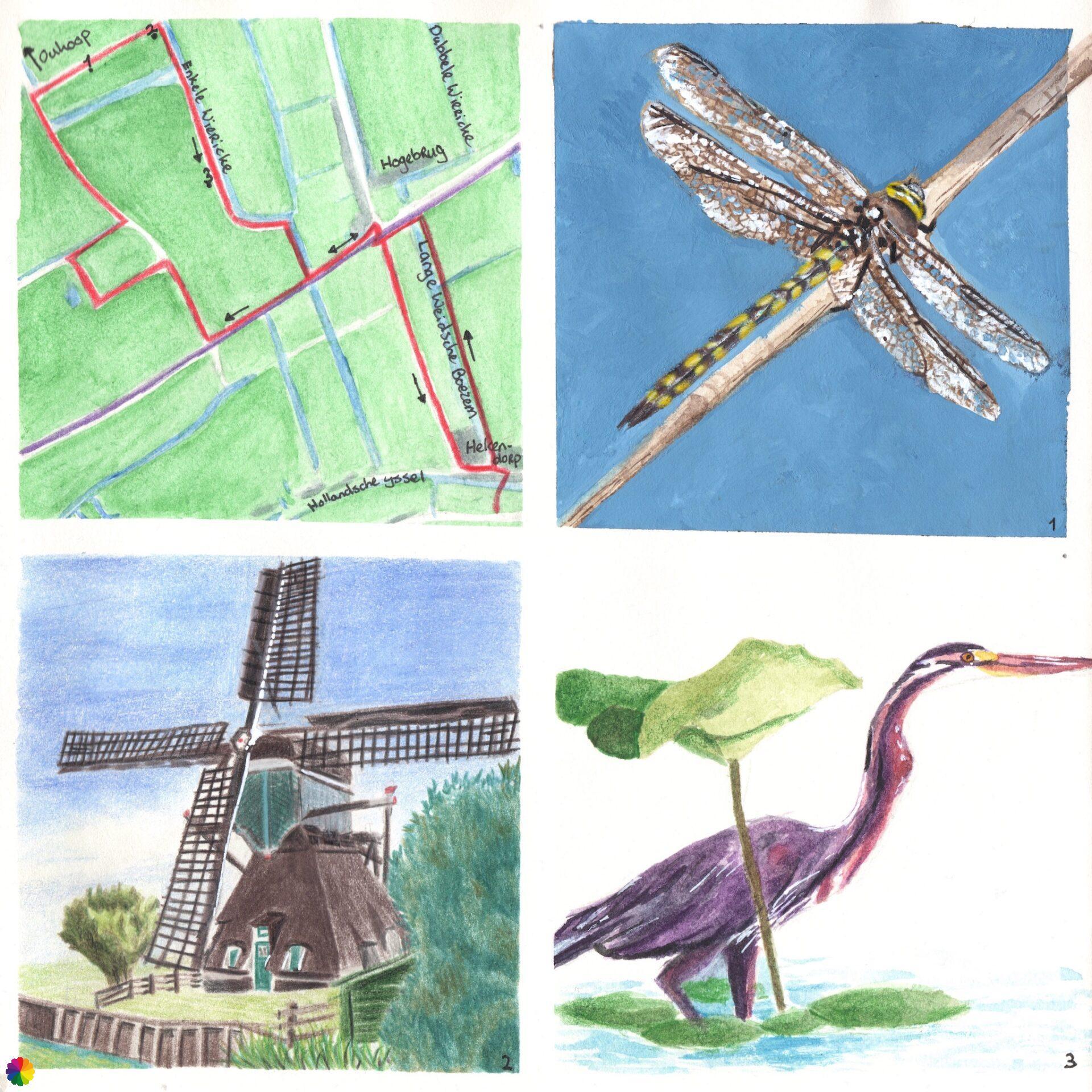 Wandelkaartje Oukooproute