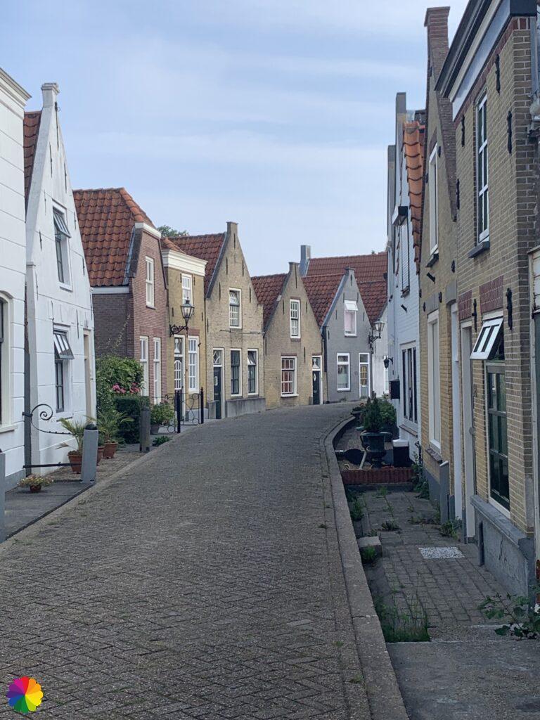 Beautiful houses in Zwartewaal