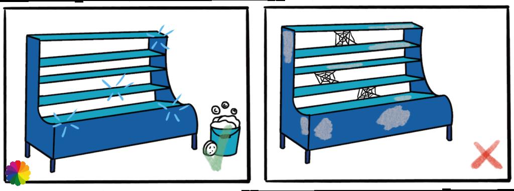 Final illustration cleaning cooler