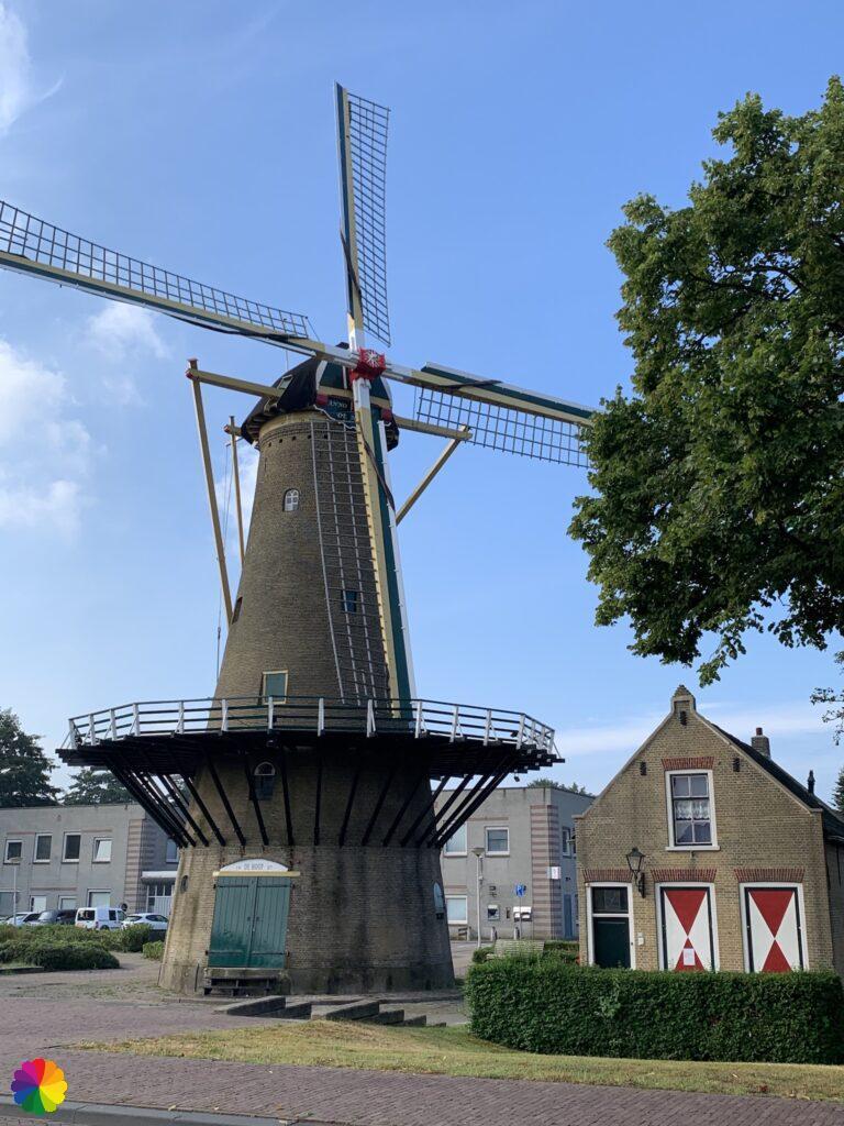 Windmill De Hoop at Rozenburg
