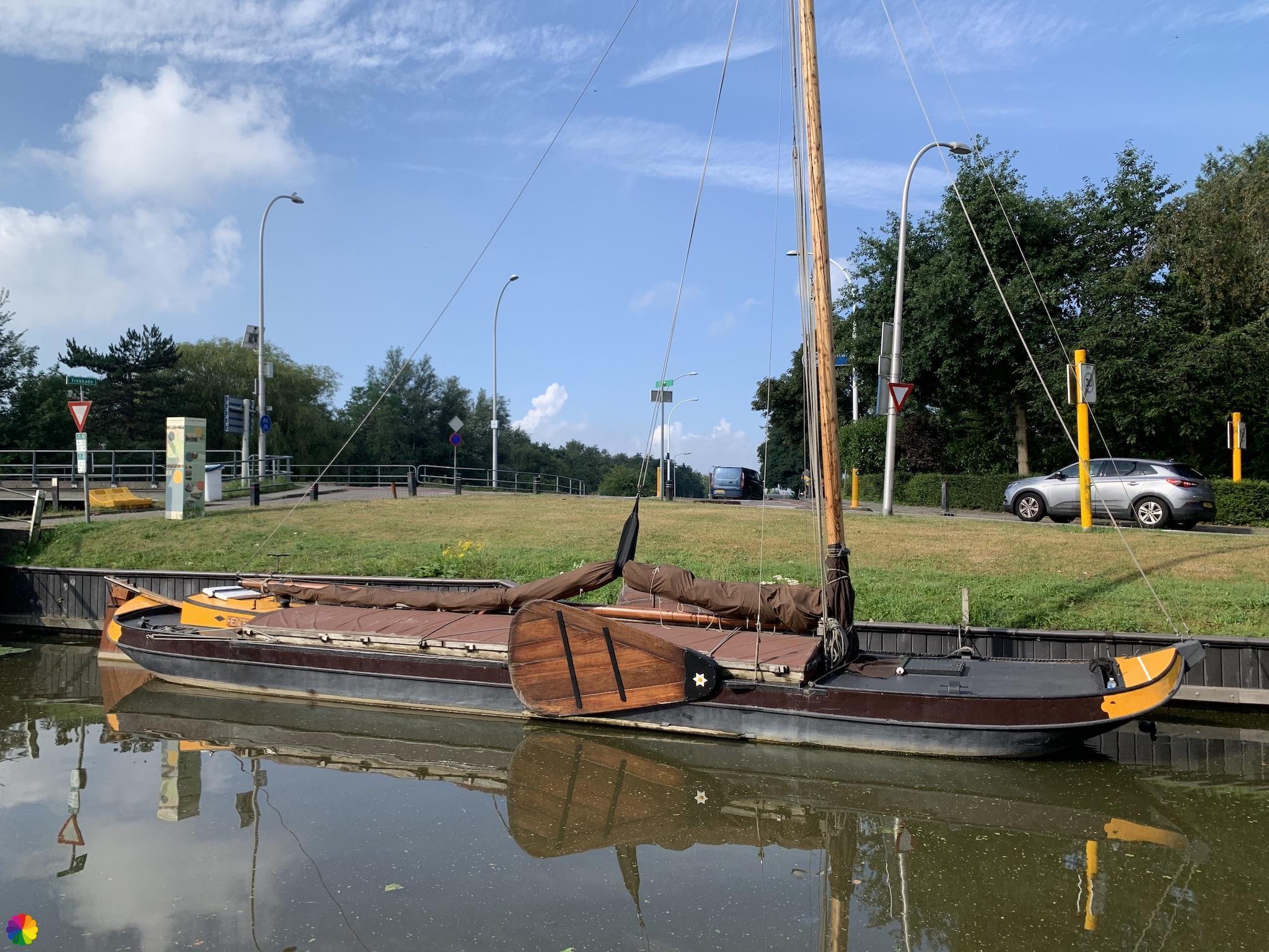 Schip in haven Maassluis