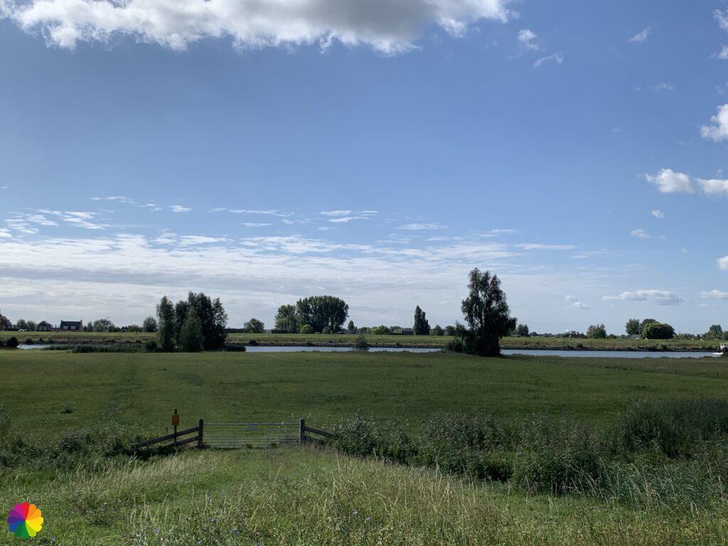 Floodplains at the river Lek