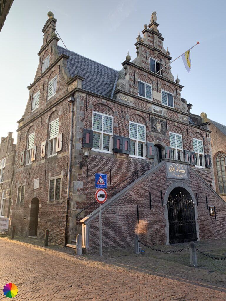 De Waag (weigh house) at De Rijp