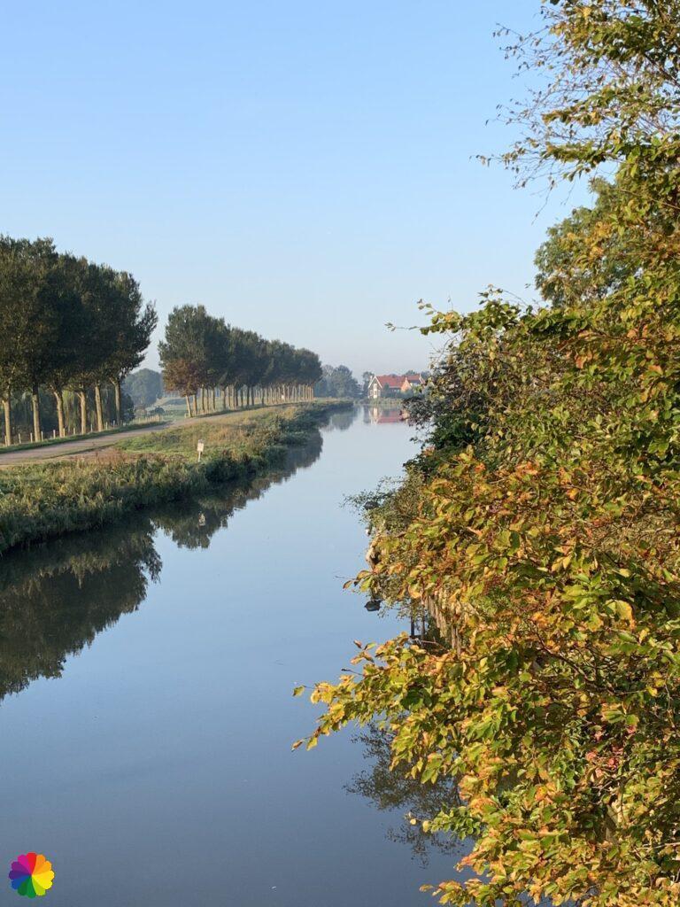 Canal Beemsterringvaart at De Rijp
