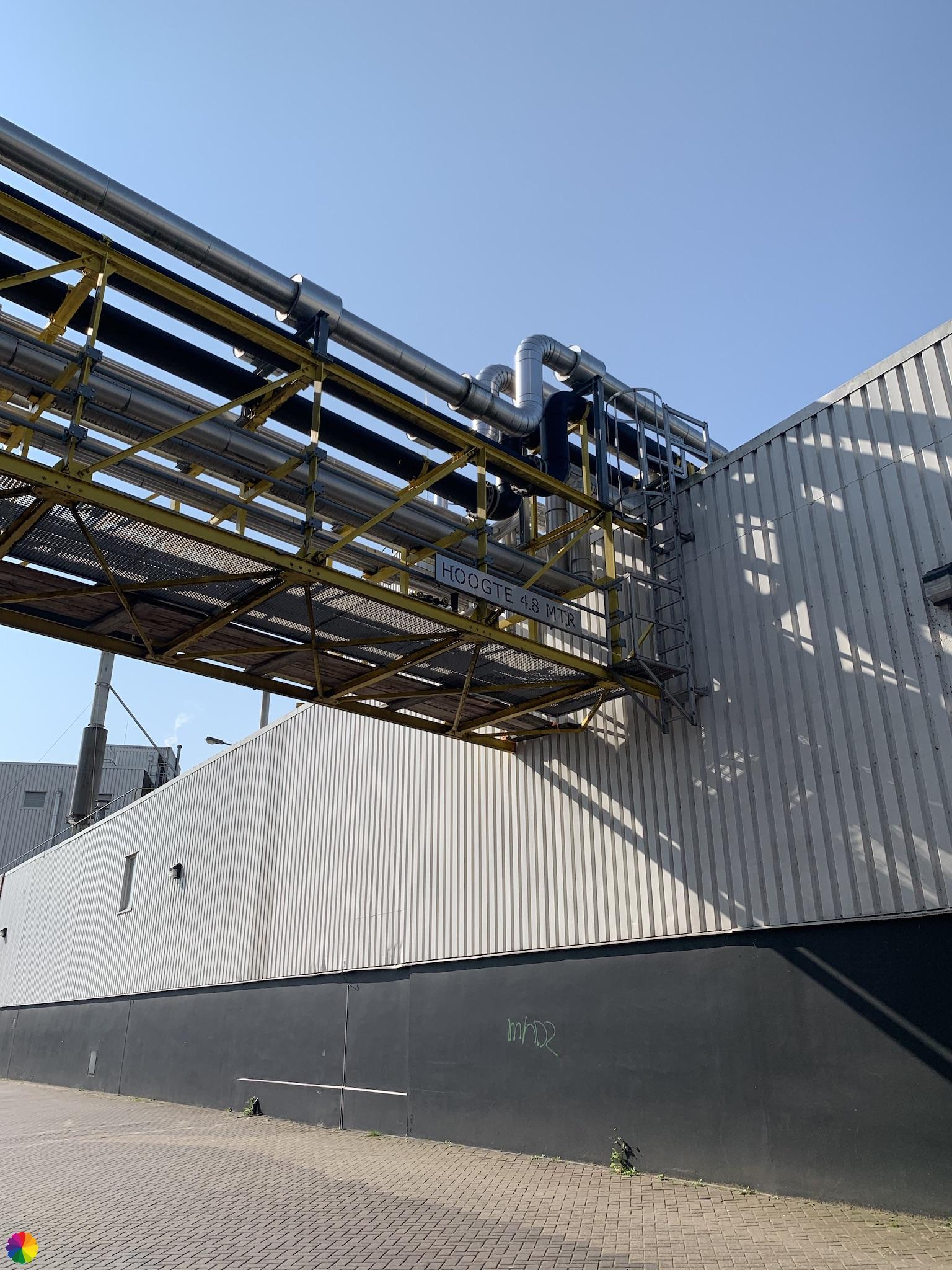 Fabriek bij Wormer