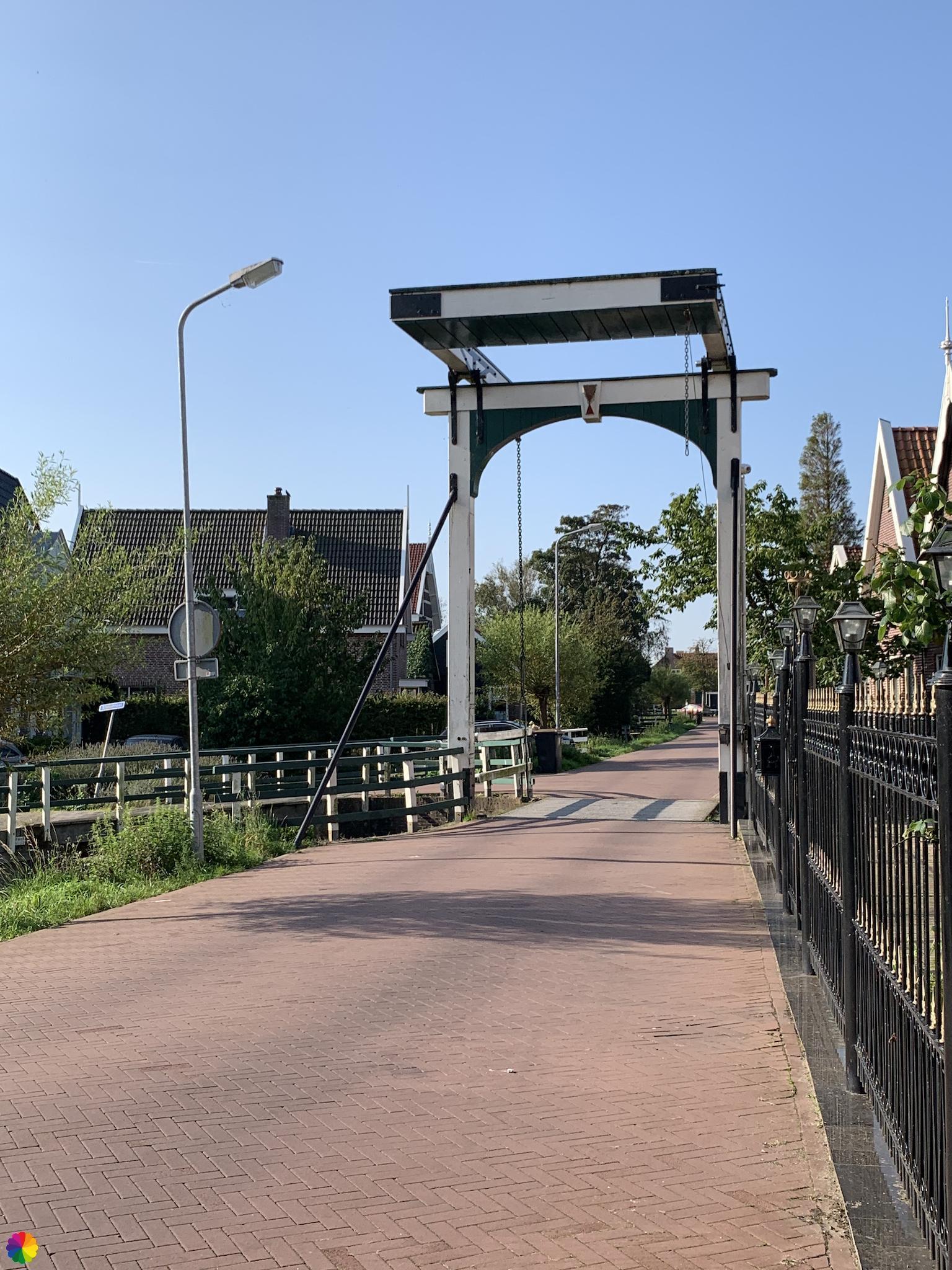 Ophaalbrug in Oostknollendam