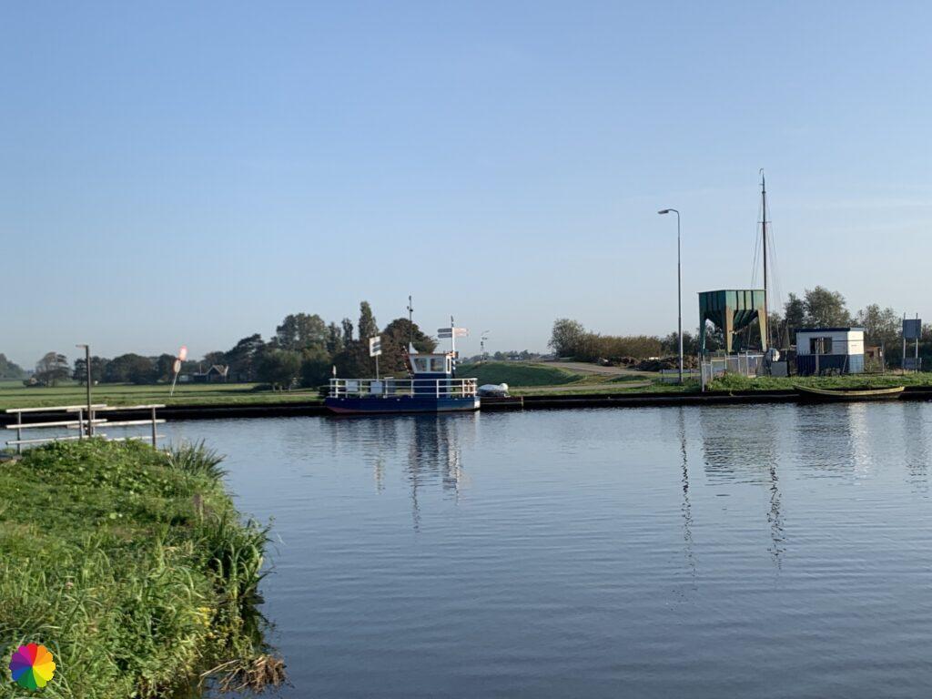 Ferry at Spijkerboor