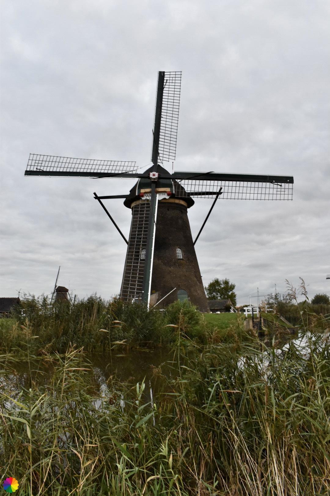 Kinderdijk molen 8