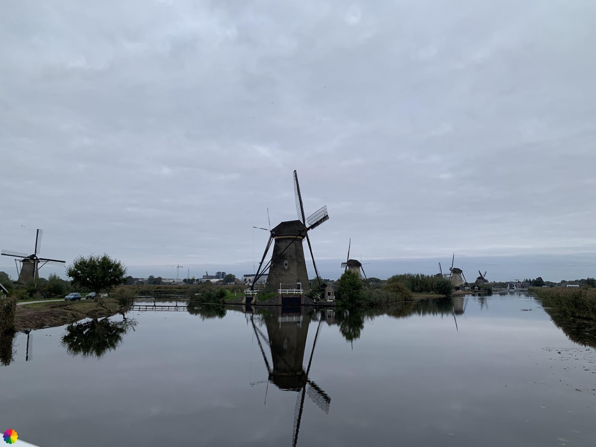 Kinderdijk molens Nederwaard