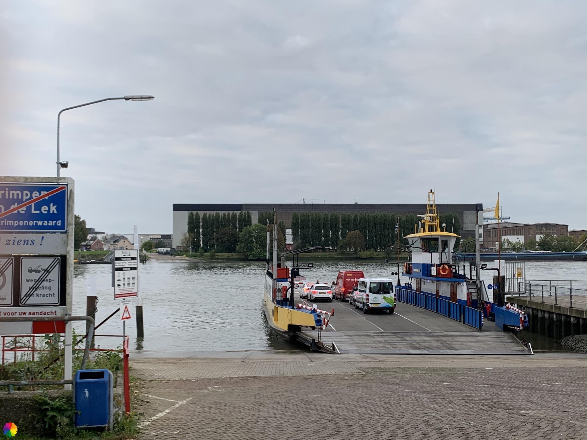 Veerpont Kinderdijk