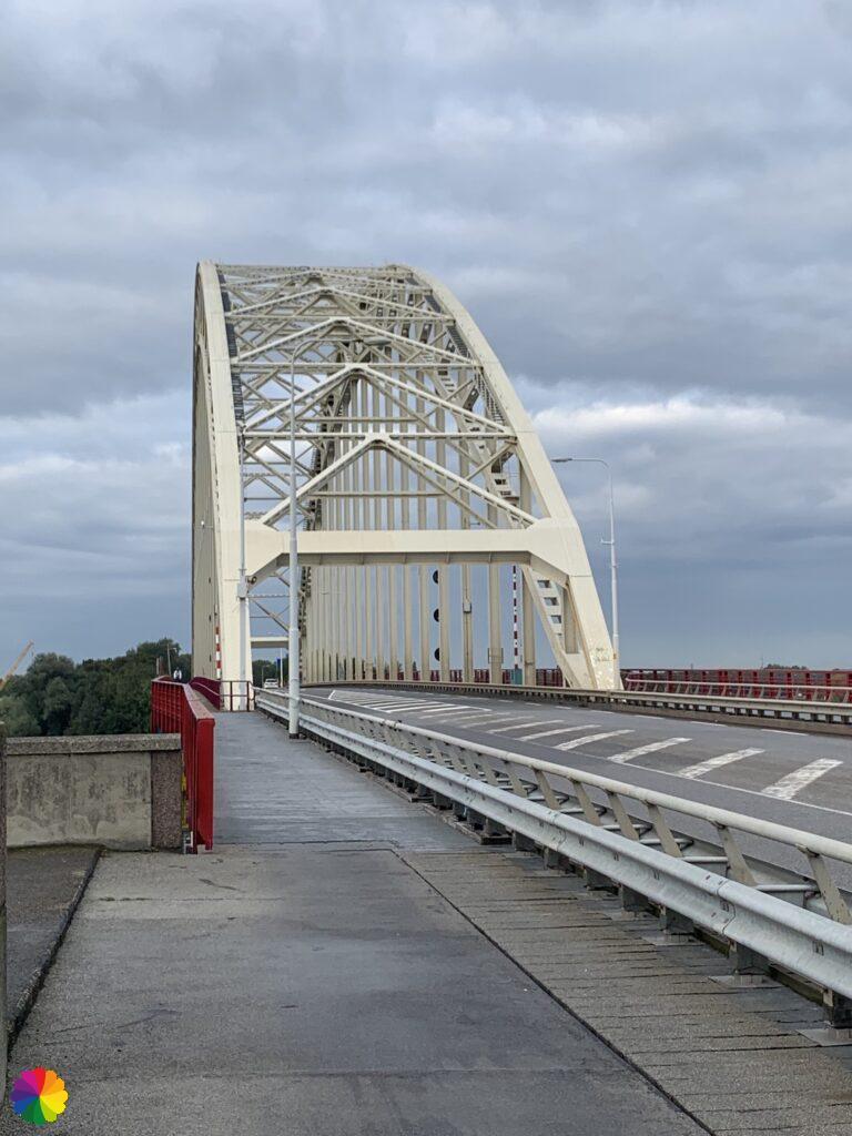 Across the bridge at Alblasserdam