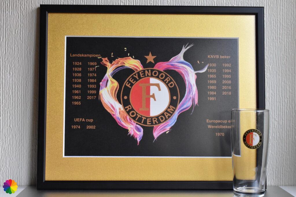 Feyenoord Flaming heart Limited Edition