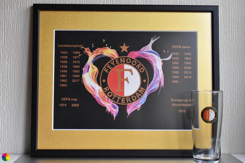 Feyenoord Vlammend hart Limited Edition