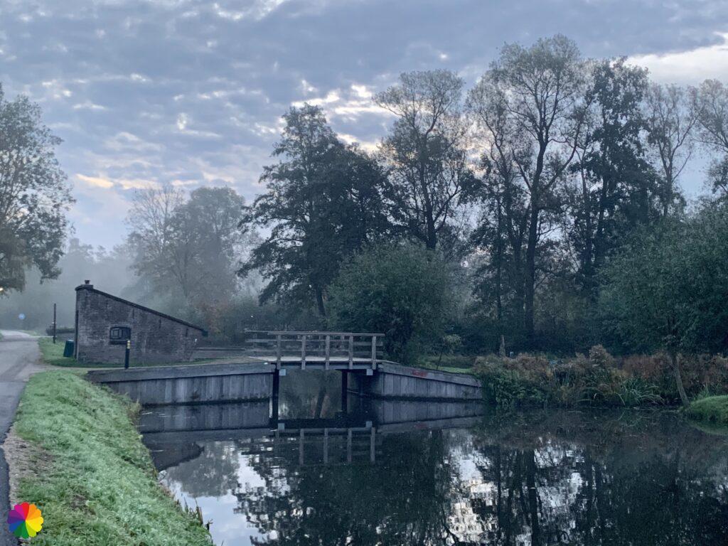 Little Loet river in fairytale atmospheres