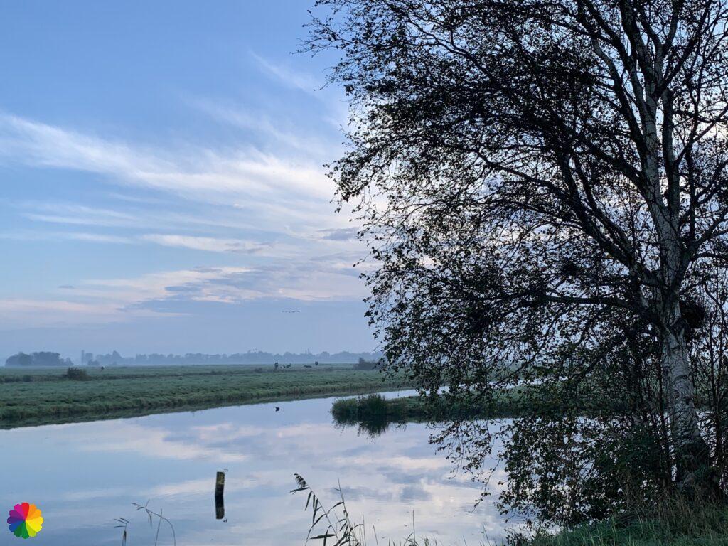 The Berkenwoudse Boezem polder in the Netherlands