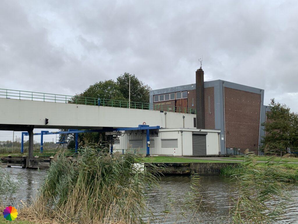 Abraham Kroes pumping station at the Hollandsche IJssel