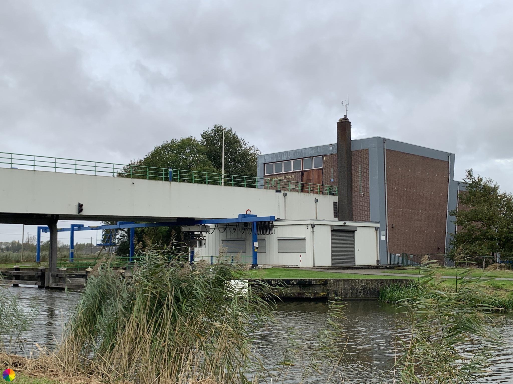 Abraham Kroes gemaal bij de Hollandsche IJssel