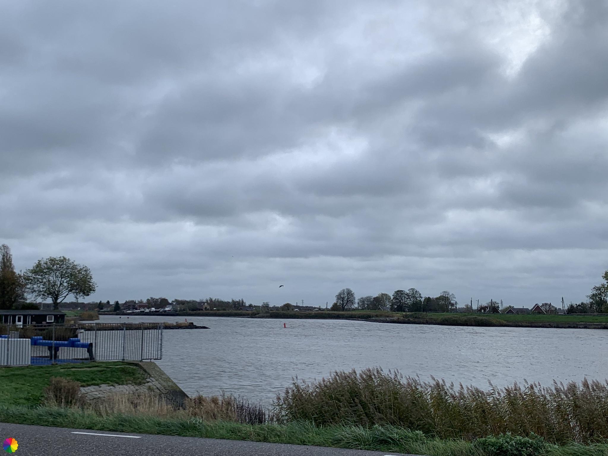 Hollandsche IJssel bij het gemaal