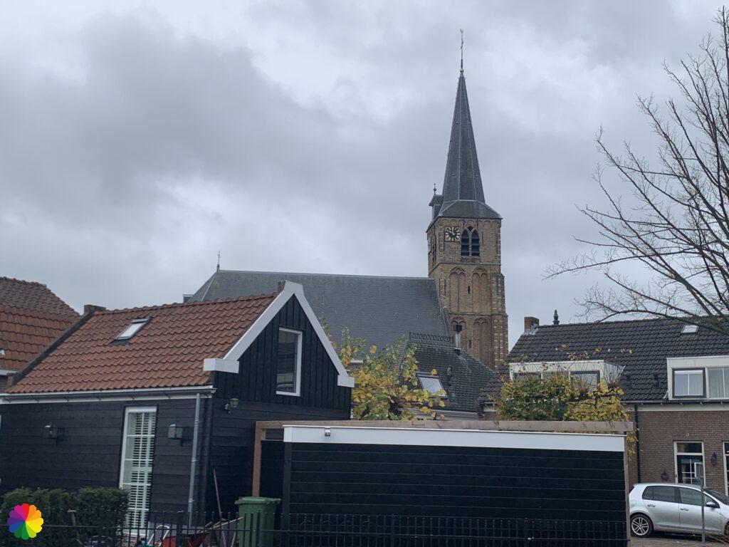 Old church at Nieuwerkerk aan den IJssel