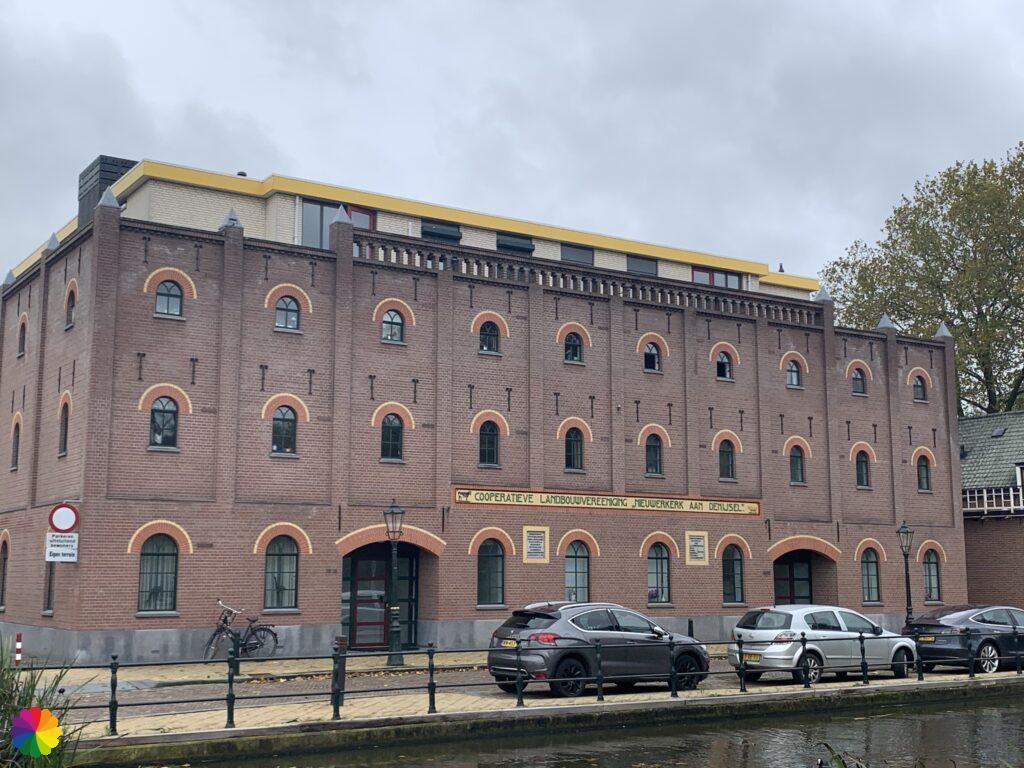 Building Cooperative Agricultural Association at Nieuwerkerk aan den IJssel
