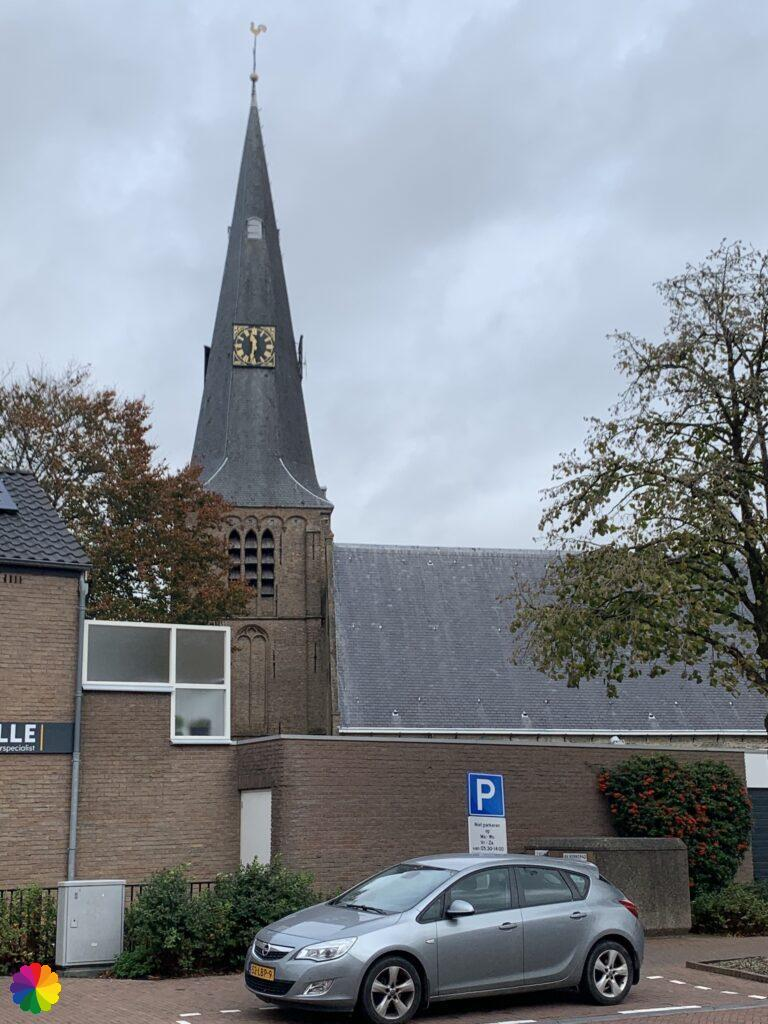 Church at Zevenhuizen in the Netherlands
