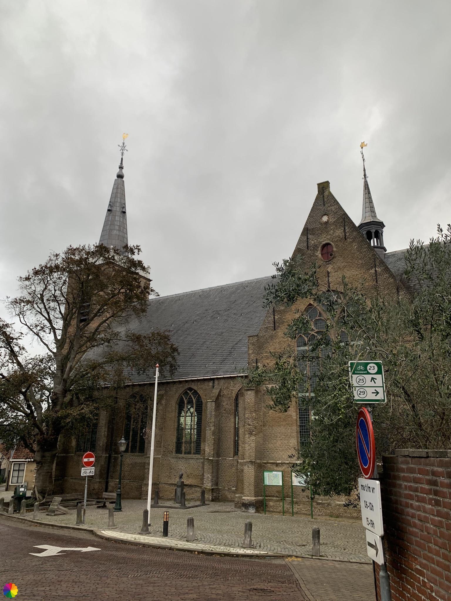 Kerkplein in Moordrecht