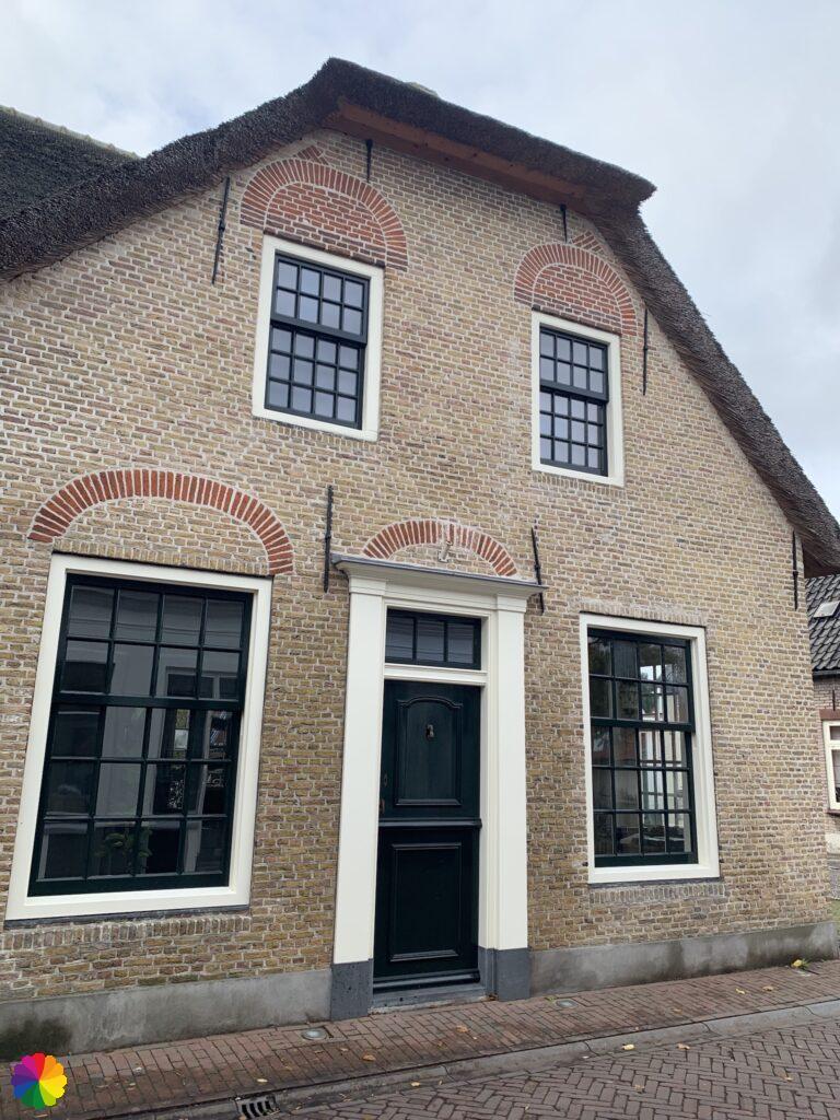 Beautiful old house at Zevenhuizen
